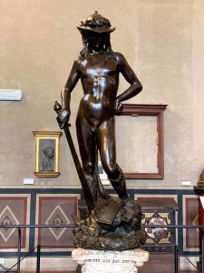 Bargello florence donatello david